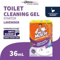 Mr. Muscle Toilet Cleaning Gel Lavender 36mL