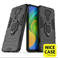 CASE REDMI NOTE 9 - CASE IRON ARMOR + RING XIAOMI REDMI NOTE 9 BIASA