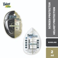 Talas - Screen Protector (Anti Gores Layar) & Helmet Protector