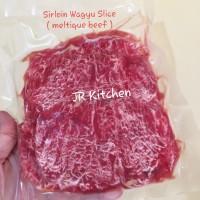 AUS Sirloin Wagyu Slice Meltique Beef Slice Bulgogi Teriyaki Yakiniku