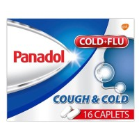 Panadol Cough&Cold Singapore Version/Panadol Cold+Flu Made In Spain