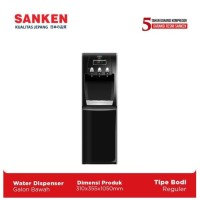 Sanken Dispenser Galon Bawah HWD-C523IC Hitam