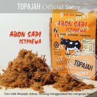 "Abon sapi spesial polos/bawang ""SIE SIN"" 250gr HALAL"