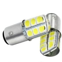 F1 LAMPU REM JELLY 1157 LED STROBO T20 12 MATA BAYONET 2 KAKI STOP