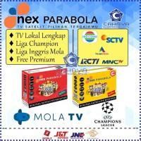Receiver Nex Parabola Kuning Liga Champion SCTV Indosiar Emtek C Ku