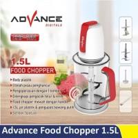 Advance - Food chopper plastik multifungsi 1,5L CHP15N