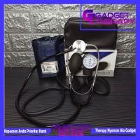 Paket Tensimeter Manual Aneroid Stetoskop Pengukur Tensi Darah Jantung