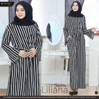 Baju Terusan Wanita Muslim Longdress Liliana Jumpsuit #16 Maxy