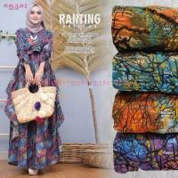 Baju Terusan Wanita Muslim Longdress Ranting #5:Dress Allila