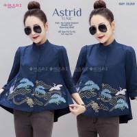 Baju Atasan Wanita Blouse Muslim Astrid Top Allila