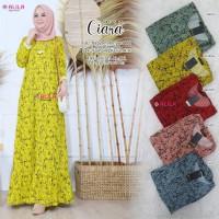Baju Terusan Wanita Muslim Longdress Ciara #2 Dress Allila