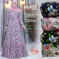 Baju Terusan Wanita Muslim Longdress Homey #2 Dress Allila