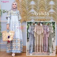 Baju Terusan Wanita Muslim Longdress Avinda Dress Allila