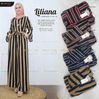 Baju Terusan Wanita Muslim Longdress Liliana Jumpsuit #15 Maxy