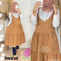 Baju Atasan Wanita Blouse Muslim Overall Set Tunik Eknw