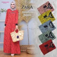 Baju Terusan Wanita Muslim Longdress Zara Dress Allila