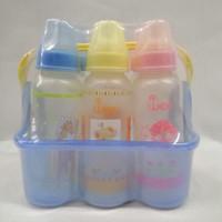 Botol Susu Bayi /Feeding Bottle Set 6 botol in 1 Basket, Merk Wee 004