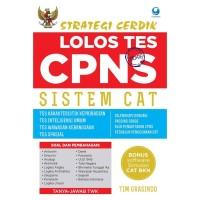 Buku Strategi Cerdik Lolos Tes CPNS Sistem CAT plus CD
