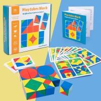 TweedyToys - Puzzle Pixy Cubes Block