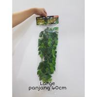 Exoterra Ficus Silk Plant / Daun Plastik Dekorasi Kandang Reptil