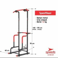 Pull Up Stand Chin Up Pull Up Bar Alat Fitness Untuk di Rumah Speeds G