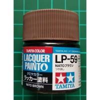 Tamiya Lacquer LP 59 NATO Brown - Cat Model kit Gundam