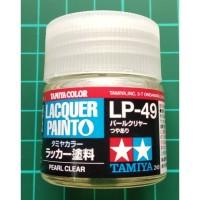 Tamiya Lacquer LP 49 Pearl Clear - Cat Model kit Gundam