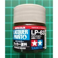 Tamiya Lacquer LP 63 Titanium Silver - Model Kit Gundam Paint