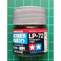 Tamiya Lacquer LP 72 Mica Silver - Cat Model kit Gundam