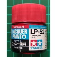 Tamiya Lacquer LP 52 Clear Red - Cat Model kit Gundam
