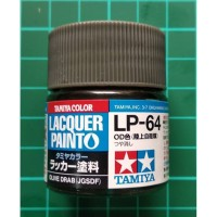 Tamiya Lacquer LP 64 Olive Drab (JGSDF) - Model Kit Gundam Paint