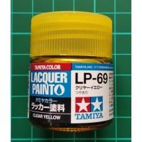Tamiya Lacquer LP 69 Clear Yellow - Cat Model kit Gundam