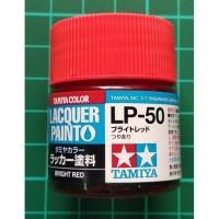 Tamiya Lacquer LP 50 Bright Red - Cat Model kit Gundam