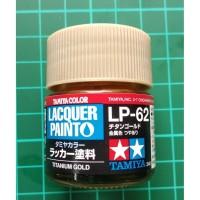 Tamiya Lacquer LP 62 Titanium Gold - Model Kit Gundam Paint