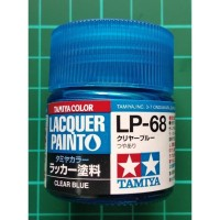 Tamiya Lacquer LP 68 Clear Blue - Cat Model kit Gundam