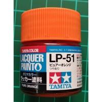 Tamiya Lacquer LP 51 Pure Orange - Cat Model kit Gundam