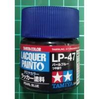 Tamiya Lacquer LP 47 Pearl Blue - Cat Model kit Gundam