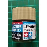Tamiya Lacquer LP 55 Dark Yellow 2 - Cat Model kit Gundam