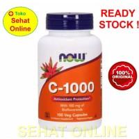 Now Foods C-1000 100 Vcaps Vitamin C 1000 mg + Bioflavonoids