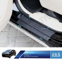 PAKET Sillplate Samping Dan Belakang Mitsubishi Xpander Hitam