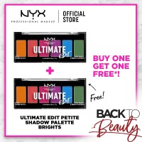 NYX Professional Makeup Ultimate Edit Petite Shadow Brights Buy1Get1