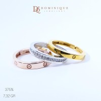 Cincin Cartier - Dominique Jewellery Kadar 375 DQ 18 14