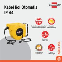 Brennenstuhl Kabel Rol Otomatis IP44 16+2m - 1241000300