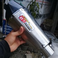 Knalpot Motor Racing CLD C7 Stainless Silincer Only