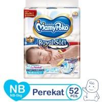 mamypoko perekat tape extra soft royal soft NB 52 NB52 / mamy poko NB
