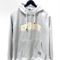 sweater hoodie stussy logo bordir
