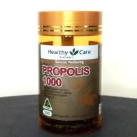 healthy care propolis 1000mg isi 200 softgel asli AU