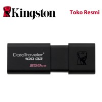 Kingston Flash Disk DataTraveler 100 G3 256GB USB3.1
