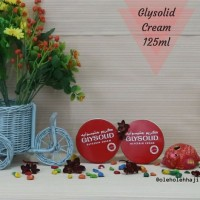Glysolid Cream 125 ml/Cream Wajah/Handbody Lotion Original Arab Saudi