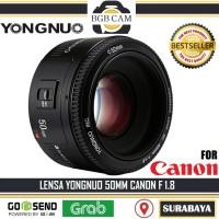 Lensa Yongnuo 50mm Fix F1.8 For CANON DSLR / YN 50 mm / BOKEH
